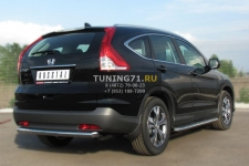 Honda CR-V 2013 Защита заднего бампера d63 (дуга) HVZ-001342